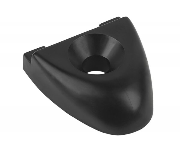 "T-Track Endstop for 1"" Track Black 74-35"