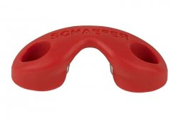 Cam Cleat Fairlead - Red for 70-07 Cam Cleat